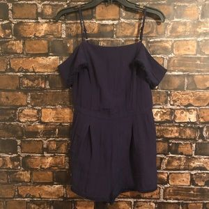 Anthropologie Elevenses Romper